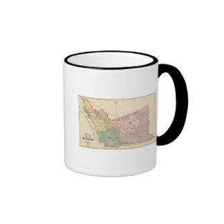 Alameda County map Ringer Mug