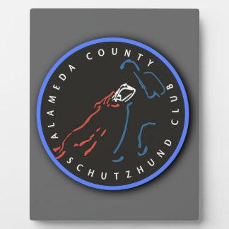 Alameda County Schutzhund Club Display Plaques