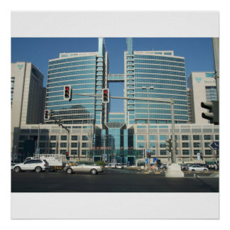 Alameda de Abu Dhabi Poster