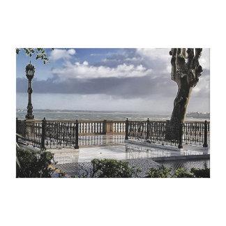 Alameda de Cádiz Lona Estirada Galerias