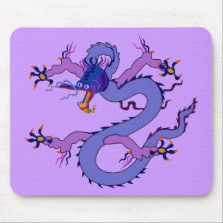 Alameda de la suerte del dragón alfombrillas de ratones