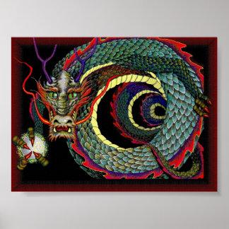 Alameda de la suerte del dragón poster
