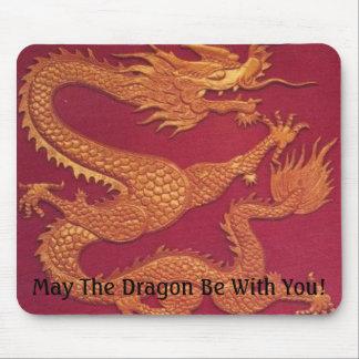 Alameda de la suerte del dragón tapete de raton