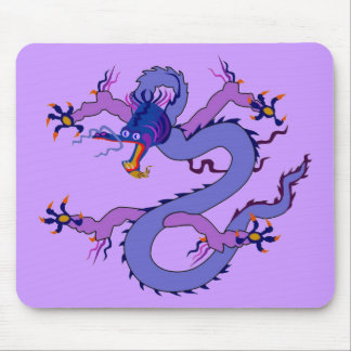 Alameda de la suerte del dragón tapetes de ratones