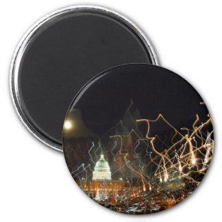 Alameda nacional que celebra la foto del día de fi imán redondo 5 cm