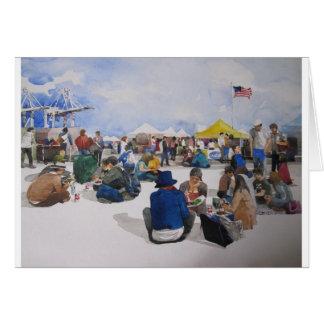 Alameda Pointe antiguo Faire Tarjeta De Felicitación