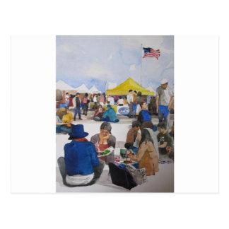 Alameda Pointe antiguo Faire Tarjetas Postales