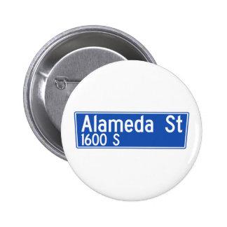 Alameda Street, Los Angeles, CA Street Sign Pins