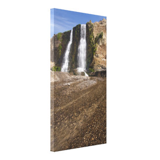 Alamere Falls on Crisp Day Gallery Wrap Canvas