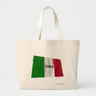 Alamo Flag Tote Bag
