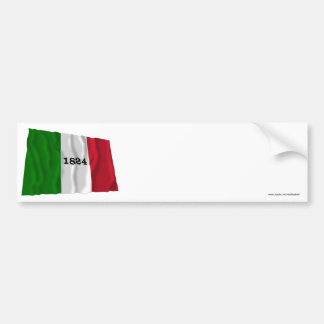 Alamo Flag Bumper Sticker