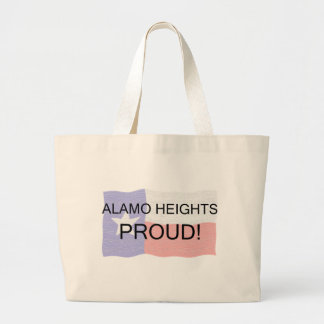 Alamo Heights Proud Canvas Bags