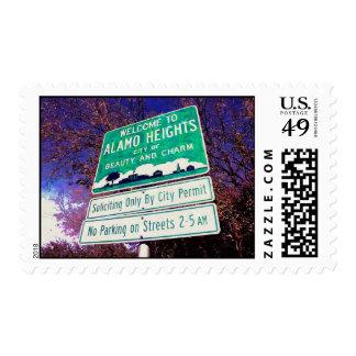 Alamo Heights Stamp