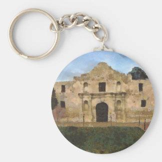 Alamo Lawn Keychain