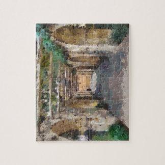 Alamo pathway puzzle