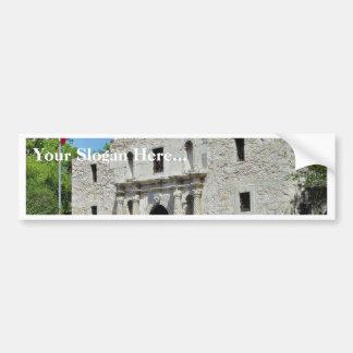 Alamo San Antonio Forts Texas Bumper Stickers