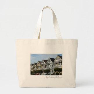 Alamo Square in San Francisco Tote Bag