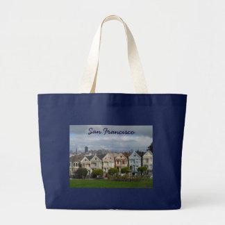 Alamo Square, San Francisco Canvas Bags