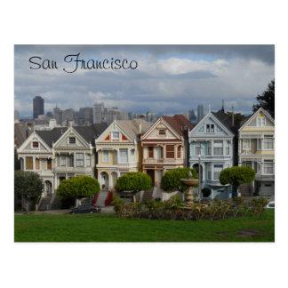 Alamo Square, San Francisco Postcard