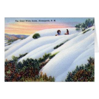Alamogordo New Mexico White Sands National Monumen Card