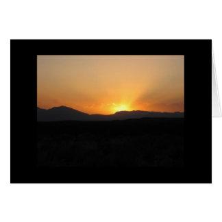 Alamogordo Sunset Card