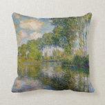 Álamos de Monet en la almohada de Epte del río