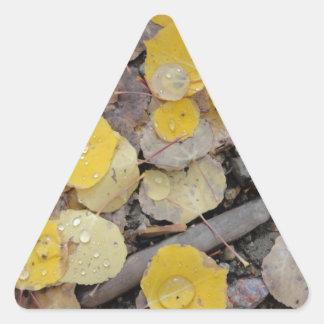 álamos tembloses del paso del boreas calcomania trianguloada