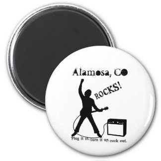 Alamosa, CO 2 Inch Round Magnet