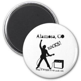 Alamosa, CO 2 Inch Round Magnet