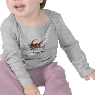 Alamosaurus (diversión del dinosaurio) camisetas