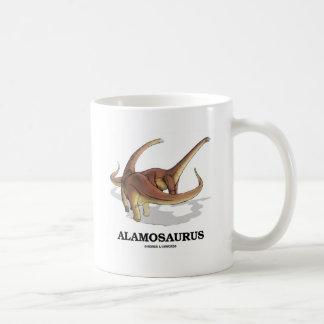 Alamosaurus (diversión del dinosaurio) taza