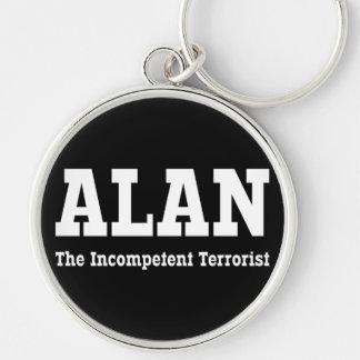 Alan - el terrorista incompetente llavero