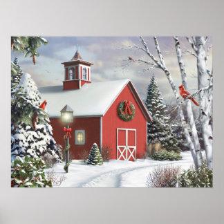 """Alan Giana """"As Winter Calls"""" Poster"""