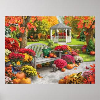 """Alan Giana """"Autumn Oasis 2"""" Poster"""