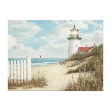 "Beach Themed Alan Giana ""By the Peaceful Shore"" Canvas Print"