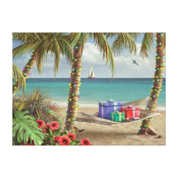 "Beach Themed Alan Giana ""Can You Imagine 2"" Canvas Print"