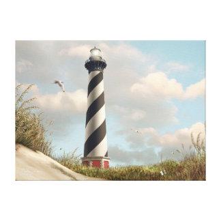"Alan Giana ""Cape Hatteras Light"" Canvas Print"