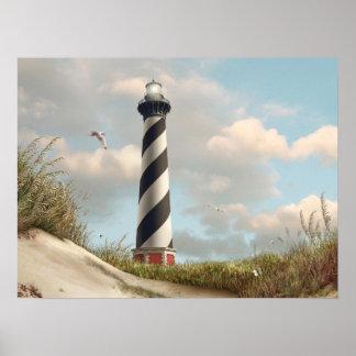 "Alan Giana ""Cape Hatteras Light"" Poster"