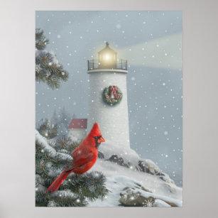 Christmas Cardinal Art Wall Decor Zazzle