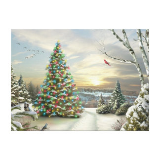 "Alan Giana ""Christmas Morning"" Canvas Print"