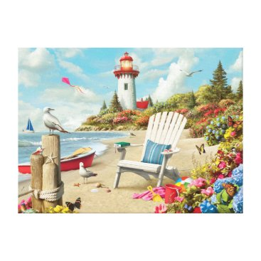 "Beach Themed Alan Giana ""Daydream 2"" Canvas Print"