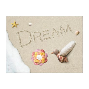"Beach Themed Alan Giana ""Dream"" Canvas Print"