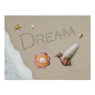 "Beach Themed Alan Giana ""Dream"" Poster"