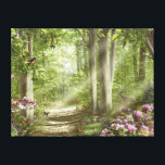"Alan Giana &quot;Forest of Life&quot; Canvas Print<br><div class=""desc"">Take a walk through the warm rays of sunlight as you journey into the &quot;Forest of Life&quot; by artist Alan Giana.</div>"