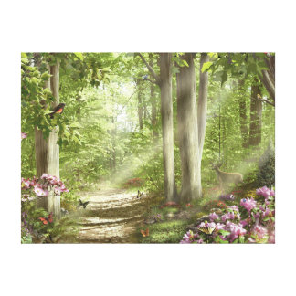 """Alan Giana """"Forest of Life"""" Canvas Print"""