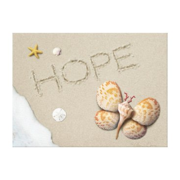 "Beach Themed Alan Giana ""Hope"" Canvas Print"
