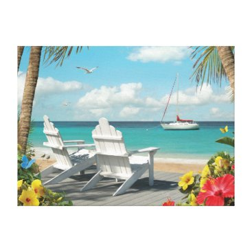 "Beach Themed Alan Giana ""In the Sunshine 3"" Canvas Print"
