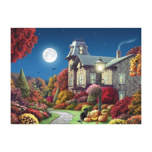 Wicked cool Alan Giana Haunted house wall art decoration