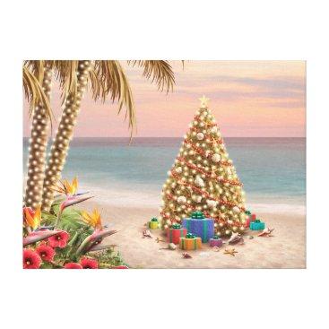 "Beach Themed Alan Giana ""Presents in Paradise"" Canvas Print"