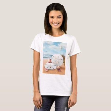"Beach Themed Alan Giana ""Sand Dollars"" T-Shirts and More"